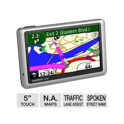 Garmin Nuvi 1450LM Auto GPS with Lifetime Maps [5Bkhe0103071]
