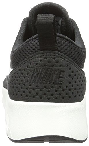Air Thea Baskets Black Femme NIKE White Summit Max Noir Basses BaR1Zx