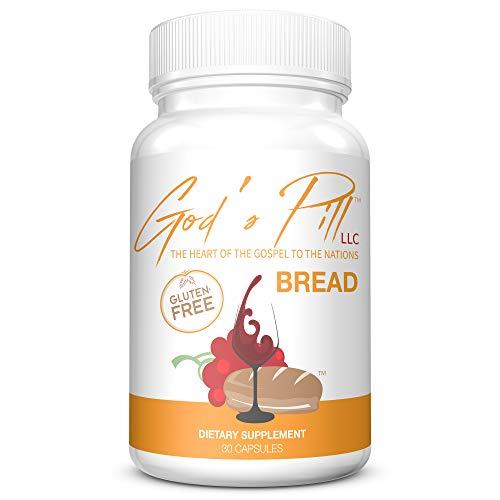 Portable Communion Gluten-Free Bread Capsules - Rice Flour Pill - Communion Elements - Bread and Wine