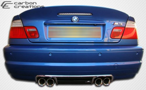 Extreme Dimensions Duraflex Replacement for 2001-2006 BMW M3 E46 2DR AC-S Rear Diffuser - 1 Piece