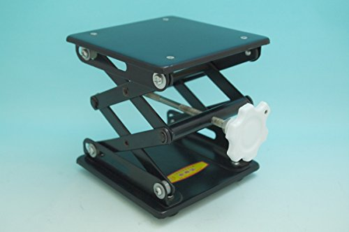 Beyondsupply-lab powder coating Lab Jack 10″(25cm)x10″(25cm)Scissor Stand lifting table new