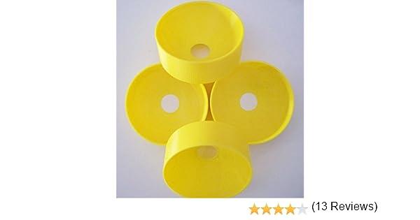 Sports & Goods Pressure Rings - Juego de 4 anillas para incrementar la presión en el interior de tubos de presurización de pelotas de tenis y pádel ...