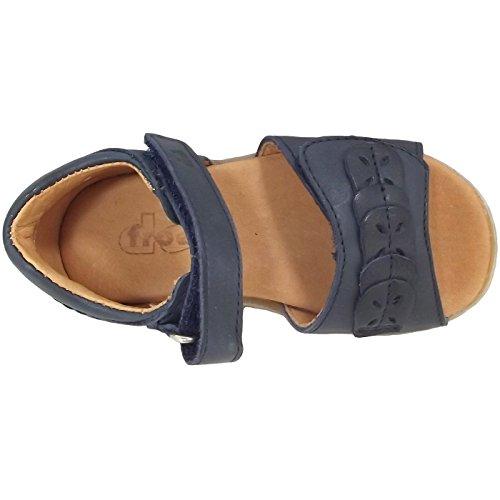 Froddo - Zapatos primeros pasos de Piel para niña Azul - dunkelblau (dark blue)
