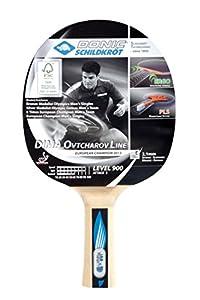 Donic-Schildkröt Tischtennis Schläger Dima OVTCHAROV 900 FSC, Holz/Natur, One...