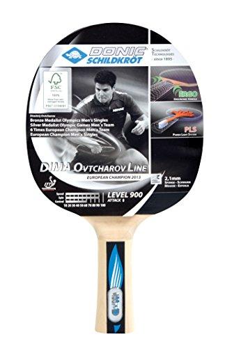 Donic-Schildkröt Tischtennis Schläger Dima OVTCHAROV 900 FSC, Holz/Natur, One Size, 754409