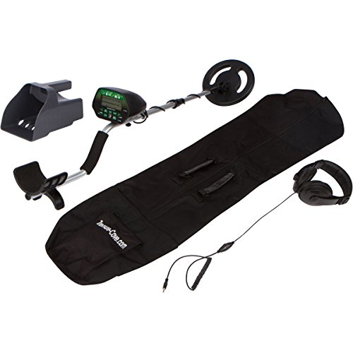 Treasure Cove TC-3020 Platinum Metal Detector Kit with LED Screen Display, 4-Piece Metal Detector Kit with 10 Year Warranty