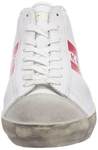 Weiß Bikkembergs 660291 Rosso alta Bikkembergs Sneaker 660291 uomo Rot Rot HpxHf8qF