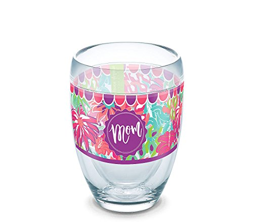 Tervis Simply Southern Jungle Pattern Mom 9 oz Stemless Wine Glass (Jungle Patterns)