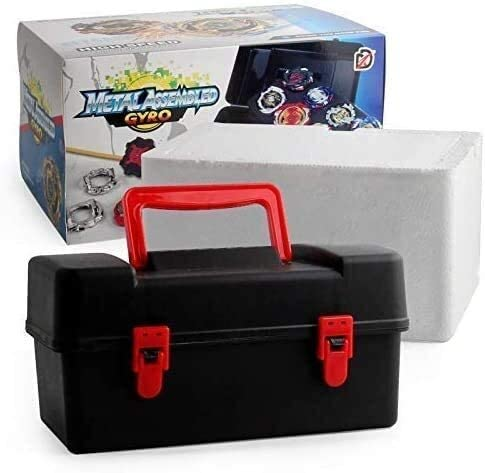 12 stuks/set Battle Tops Case Toy, Beyblades Burst Launcher Battle, Spinning Tops Game Novelty Toys for Kids Children Gift