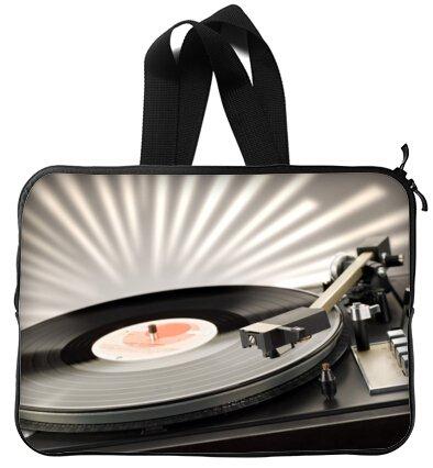 8b324d0635ff Amazon.com: Vinyl Record Turntable 13 Inch Handle Laptop / Notebook ...