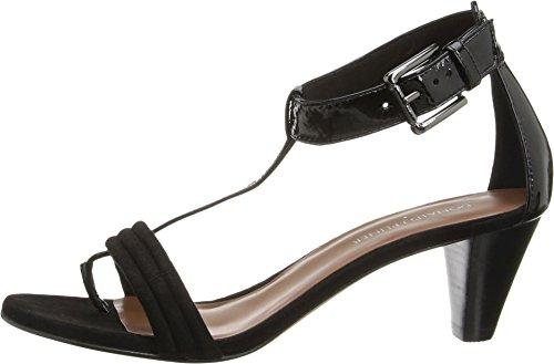 Donald J Pliner Women's Viva Dress Sandal,Black/Black,8.5 M US
