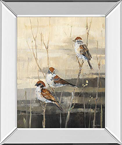 Classy Art'Evening Sanctuary III by Amy Tillmon Framed Print Wall Art Tan/Beige