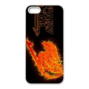 Classic Case Fairy Tail pattern design For Apple iPhone 5,5S Phone Case