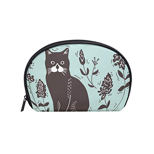 imobaby Cat Lithograph Cosmetic Makeup Bag Organizer for Women Travel Kit With Zipper Multifunction Toiletry Case Storage Bags