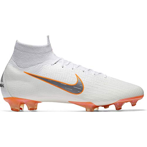 e625ecca5 Nike Men's Superfly 6 Elite FG Firm-Ground Football Boot (10 M US) White