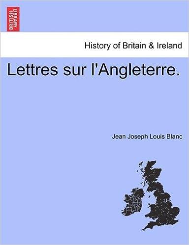 Lettres Sur L'Angleterre. epub pdf