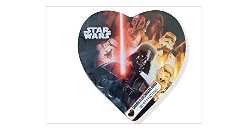 Valentine Star Wars Caramel Filled Chocolate Hearts in Tin