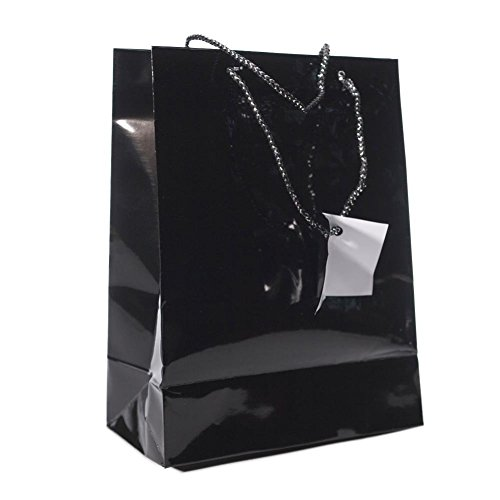 Medium Black Gift Bags Dozen