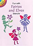 Fun with Fairies and Elves Stencils, Marty Noble, 0486401170