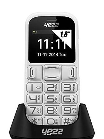 Yezz Senior Bar Z20 Smartphone, Blanco [Italia]: Amazon.es ...