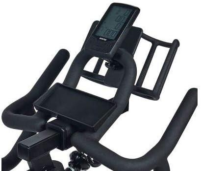 Pedales mixtos Pantalla LCD Spinning Bicicleta Ciclo Indoor EVERGY FMC-COMP Volante de Inercia 21 kg Sill/ín y Manillar ajustables vertical y horizontalmente