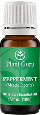 Peppermint Essential Oil 10 ml. 100% Pure, Undiluted, Therapeutic Grade.