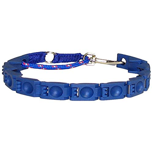 Practical Design Perfect Pets Dogs Command Collar Adjustable ABS Anti-Bark Small Dog Command Training Collar Blue
