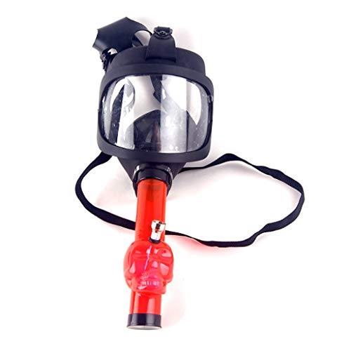LOLOVI Gas Mask Hookah Bong Silicone Protective Mask