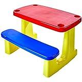 Conjunto de 1 Tampo, Assento e 1 Base de Plásticos Montável Escolar, Tramontina, Vermelha/