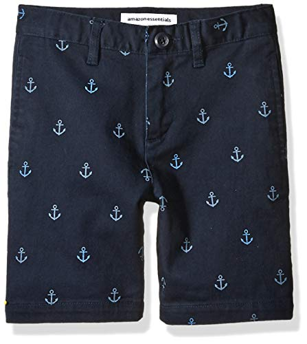 Amazon Essentials Big Boys' Woven Shorts, Anchor Navy 8