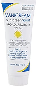 Vanicream Sunscreen Sport, SPF 35 4 oz