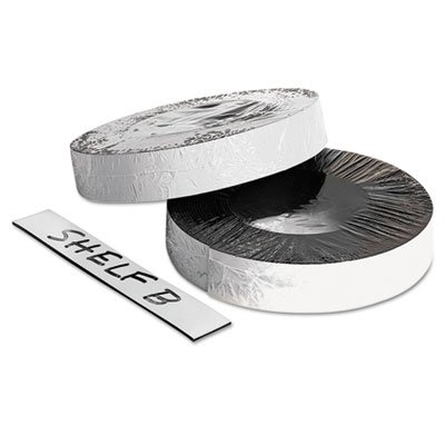 Dry Erase Magnetic Label Tape, White,1'' x 50 ft., Sold as 2 Each