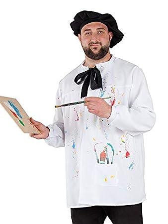 DISBACANAL Disfraz de Pintor Adulto - Único, M: Amazon.es ...