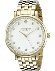 kate spade new york Womens 1YRU0821 Monterey Gold-Tone Bracelet Watch