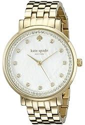 kate spade new york Women's 1YRU0821 Monterey Gold-Tone Bracelet Watch