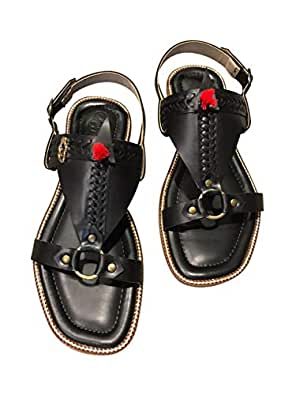 ChappersME-Greek Black Sandals