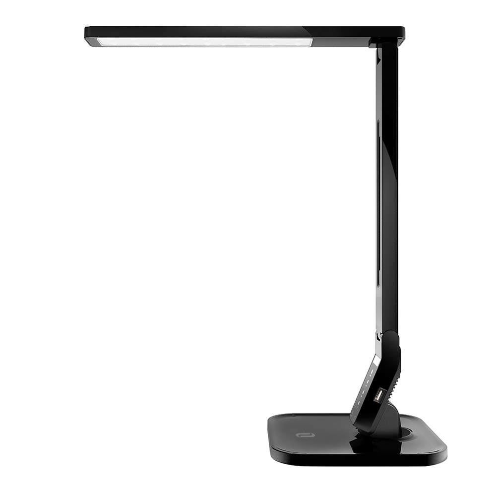 TaoTronics LED Desk Lamp with USB Charging Port, 4 Lighting Modes with 5 Brightness Levels, 1h Timer, Touch Control, Memory Function,14W, Official Member of Philips EnabLED Licensing Program by TaoTronics
