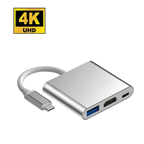 USB-C to HDMI Adapter Lingwei USB C to HDMI HUB with Multipo
