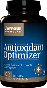 Jarrow Formulas Antioxidant Optimizer, Supports Vision, Cardiovascular Health, 90 Tabs