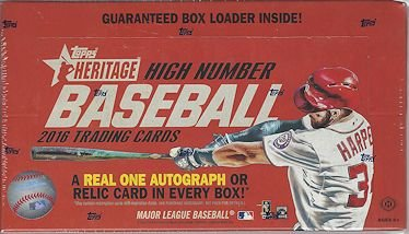 2016-topps-heritage-high-number-hobby-box-24-packs-box-9-cards-pack-possible-autographs-or-relic-car