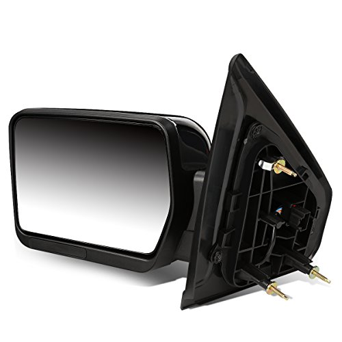 DNA Motoring TWM-019-T222-CH-L Towing Side Mirror Assembly (Left Side only)