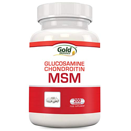 Nutriza Glucosamine Chondroitin MSM Supplement, 200 Capsules, Made in USA, GMP Compliant Facility, May Support Joint Health Review