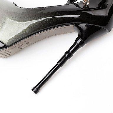 Mariage Soirée Femme ggx Nouveauté Chaussures amp; LvYuan Polyuréthane Habillé Talons Nouveauté BoucleTalon Printemps blue Evénement Automne à Strass wz5Pxdq