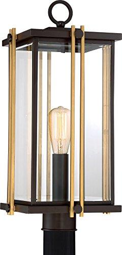 Luxury Craftsman Outdoor Post Light, Large Size: 21.5