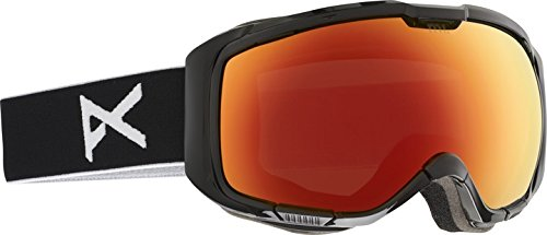 Anon M1 Snow Goggles Black with Red Solex and Blue Lagoon Lens -  10772101007_Black/Red Solex