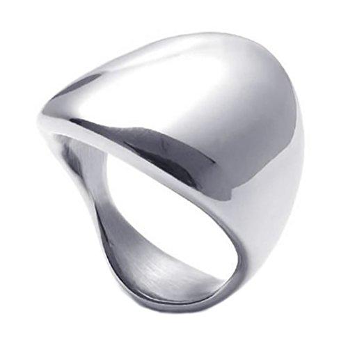 KONOV Polished Stainless Steel Silver