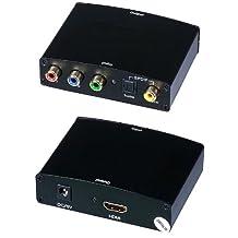 C&E CNE63393 Component and S/PDIF Digital Coax Audio to HDMI Converter
