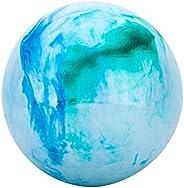 Antetek Bouncing Balls for Kids, 12-inch Marbleized Bouncy Balls, Childrens Inflatable Toy Balls, Beach Ball,
