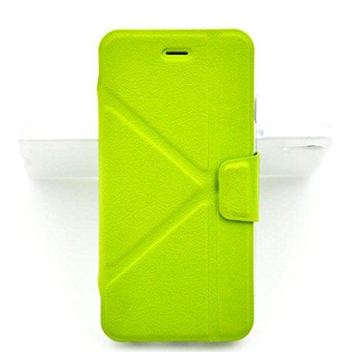 iPhone 6 Hülle,Apple iPhone 6 Hülle (4.7 Zoll) Lifetrut®[grün] Flip Case mit lebenslanger Garantie + Kartenfächern & Standfunktion