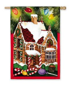 Flag,Reg,Gingerbread House Review